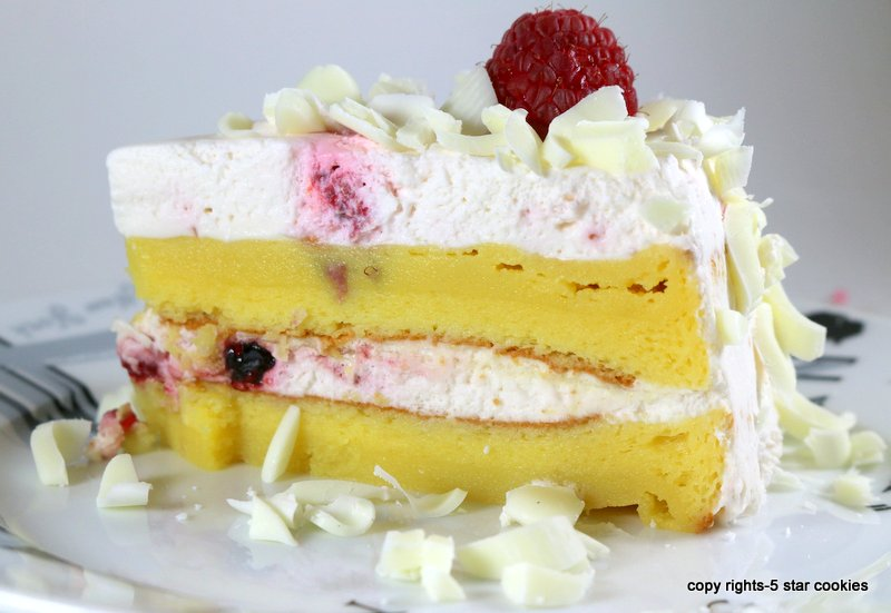 Flourless White Chocolate And Raspberry Cake
